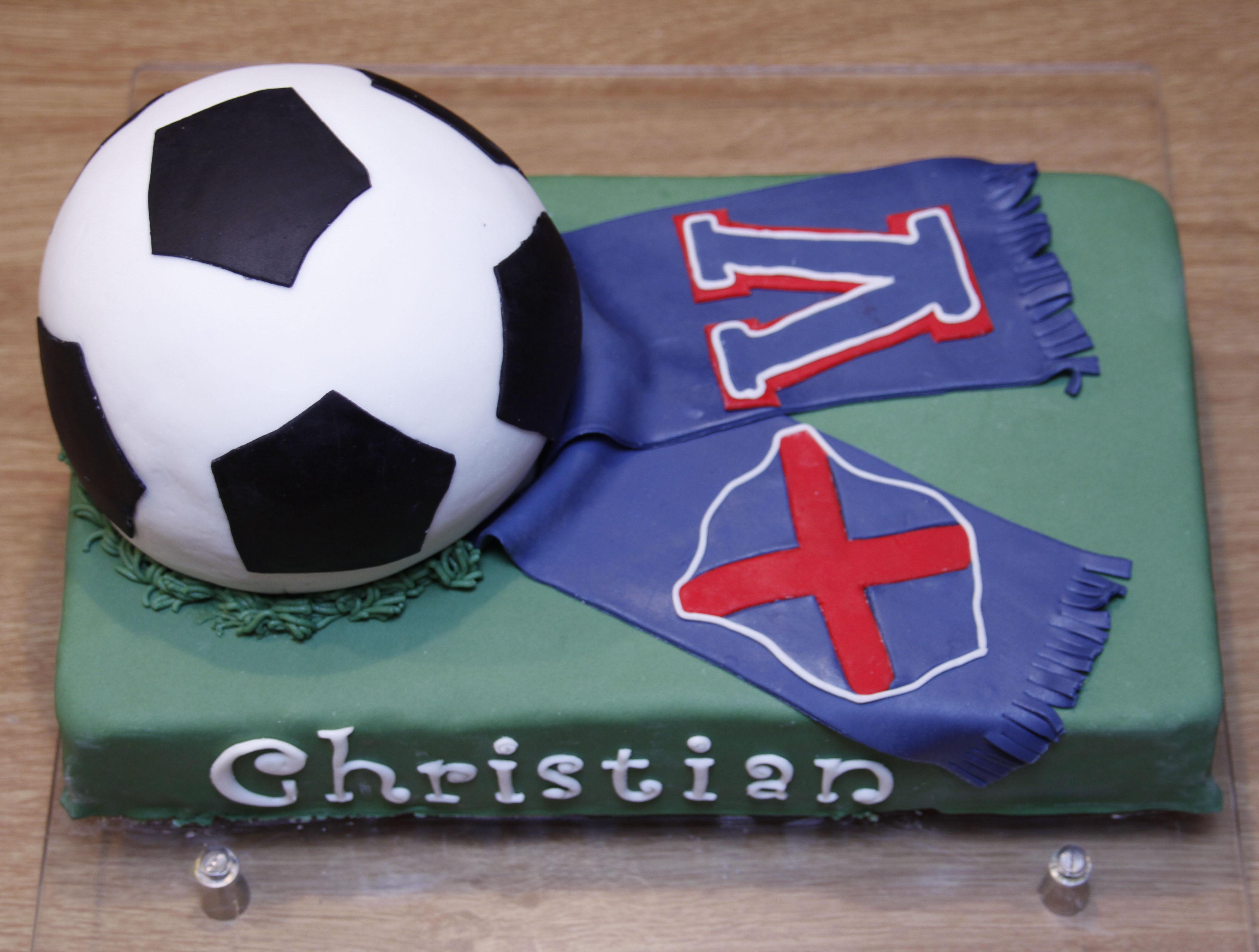 fotballkake-christian