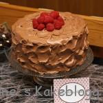Southern Devils Food cake (mørk,saftig sjokoladekake)