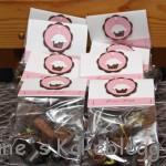 Goody bag med hjemmelaget konfekt