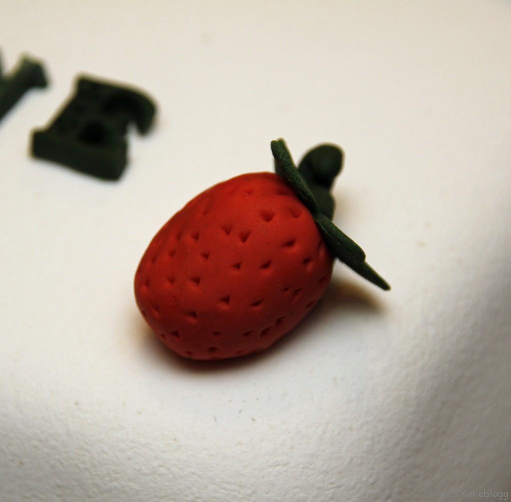 Sommerkake jordbær